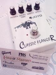 Гитарная педаль эффектов Joyo classic Flanger фленджер для электрогитары