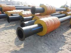 The slurry pipeline for dredges