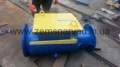 Back valve for dredges