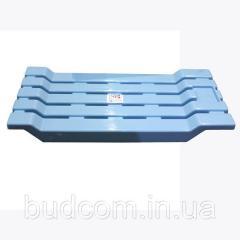 Сидение для ванной пластиковое цельнолитое