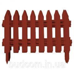Забор для газона пластиковый 1 секция ММ-Пласт