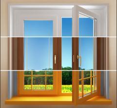 Windows non-standard in VINNYTSIA, Production of