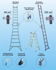 Лестницы изолирующие стеклопластиковые приставные,