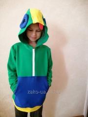 Детская толстовка ZaKo Леон Бравл Старс 122...