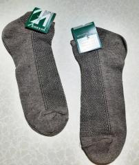 Носки мужские вставка сеточка укороченные хлопок