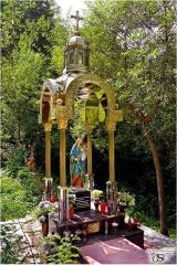 Chapels, small chapels from metal (damask steel -