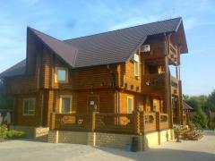 Срубы деревянных домов