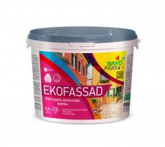 Акрилова фасадна фарба Ekofassad Nanofarb 4.2 кг