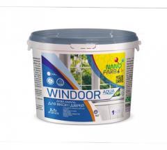 Емаль для вікон і дверей Windoor Aqua Nanofarb 0.9