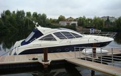 The yacht motor Atlantis 50 2008 to buy sale