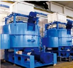 Equipment for heat treatment of metals