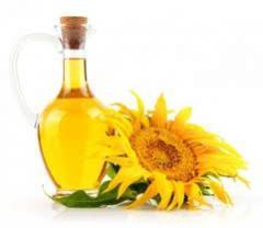 Sunflower oil nerafenirovanny