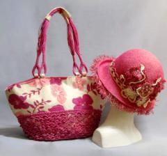 """Set """"A pink garden"""