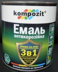 Enamel anticorrosive 3 in 1