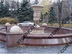 Fountain granite