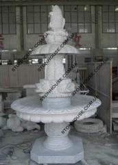 Fountain marble Donetsk