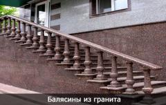 Balustres granit Tokovskie 402