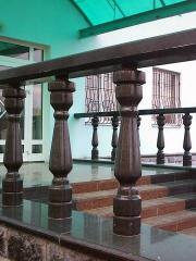 Balaústre de granito para escadas 018