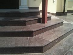 Schritte Granit