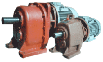 Motor reducers of types 1MTs2S-63, 1MTs2S-80, 1MTs2S-100,1MTs2S-125