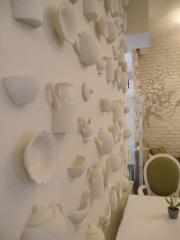 Декоративные настенные украшения гипсовые элементы