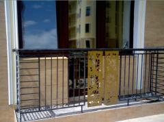 Shod balconies production under the order on the