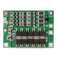BMS 4s Контроллер плата BMS с балансиром 4S Li-Ion