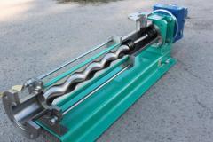 Installations of osediagonalny shnekovy pumps