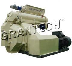 Пресс-гранулятор для производства биотоплива