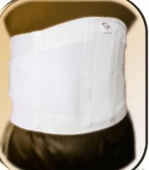 Belt for unloading and fixing of lumbar and sacral