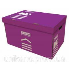 Контейнер для архивних боксів фіолетовий