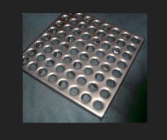 Металеві напольние покриття