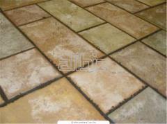 Tile decorative of a natural stone in Simferopol