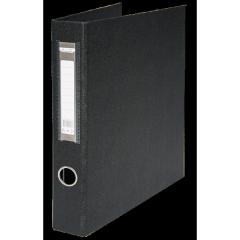 Реєстратор А4 на4кільця 40мм PVC, чорн