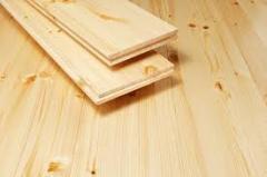Floor board parquet pine