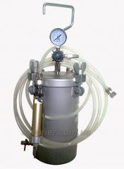 Feed system of AT-5 (FG) K glue