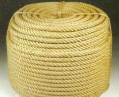 The rope is jute