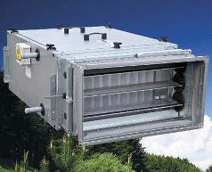 Компактные энергоэффективные подвесные приточные