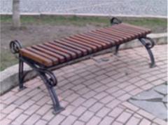 Кованая мебель, уличные лавочки, скамейки
