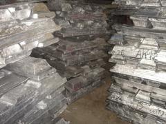 Alloy aluminum AK5M2, AK5M2P, AK7, AK7P, Ak7ch,