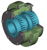 Couplings gear MZ and MZP, rezinopaltsevy
