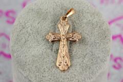 Крестик Xuping Jewelry классический с широкими