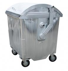 The container for collecting MSW of 1100 l