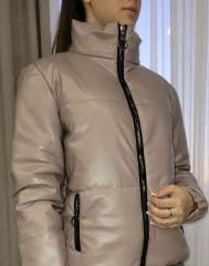Модная женская куртка из еко кожи (42-44-46-4