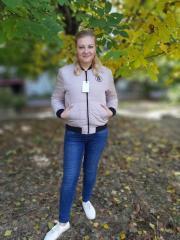 Модная женская куртка-бомбер ,  р.(44-46)...