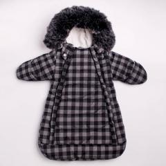 Зимний теплый костюм трансформер комбинезон...