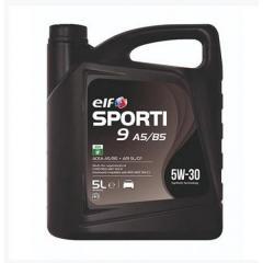 Моторное масло Elf Sporti 9 A5/B5 5W-30 5л SL/CF