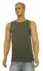 Undershirt man's K-02011, khaki, cooler, wide