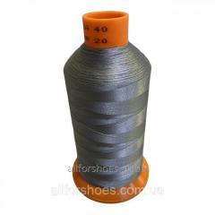 Нить швейная Gold Polydea 60(4500м),  Серый