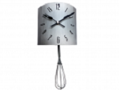 Mixer wall clock